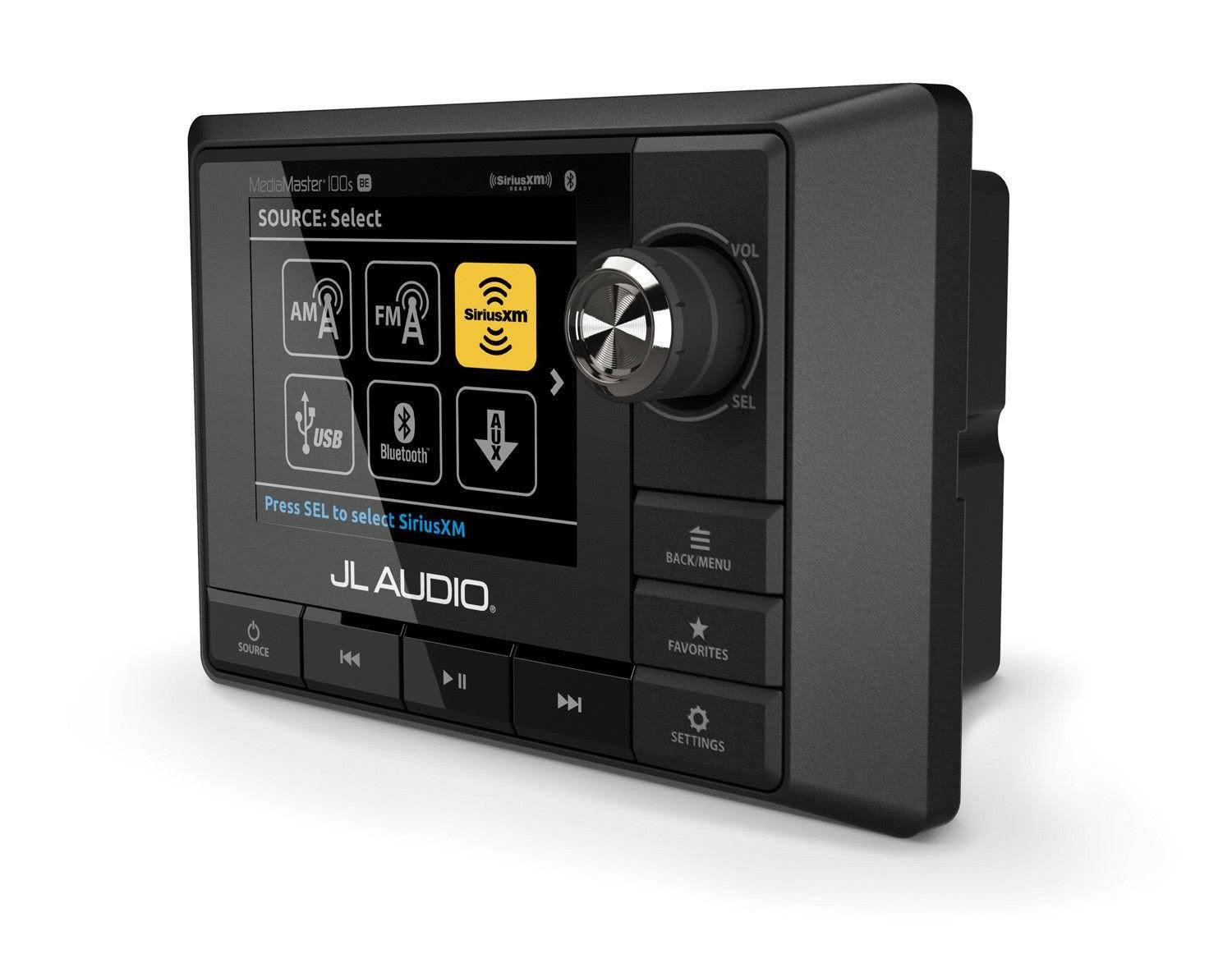 JL Audio 99920 Weatherproof Source Unit - Black