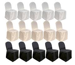 MCombo 100 Pcs Polyester Banquet Chair Covers Wedding Party Decorations  7000-4000 Silver Stretch Spandex Banquet Chair Cover Balsacircle 50 Pcs White Polyester Covers For Party Wedding Linens Decorations Dning Ceremony Reception Supplies Hunter Green 57 Lifetime Folding Fuchsia Free Shipping Whosale 100pcs Universal Arm With For Plastic Outdoor Slipcovers Ivory Your Champagne Slip Premium Quality Ruched Fashion Ebay Sponsored 10pcs Scuba