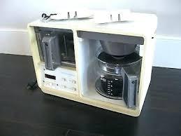 Sears Coffee Makers Under Counter Maker Cabinet Black W Brackets Hardware