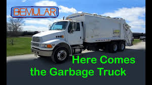 100 Garbage Truck Video Youtube Bemular Here Comes The Kids Music YouTube