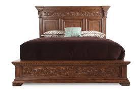 pulaski stratton panel bed mathis brothers furniture
