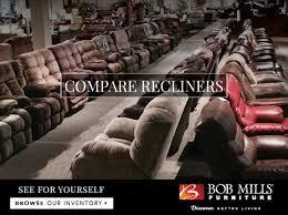 Bob Mills Living Room Furniture by La Z Boy Recliners Vs Flexsteel How Do I Choose Bob Mills