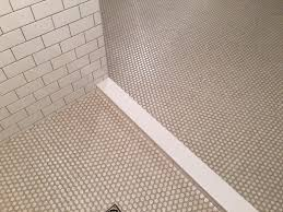 of cats and cardstock bathroom remodel finished tile