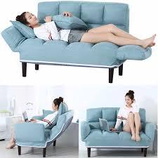 russland boden sofa bett mit 2 kissen 5 position einstellbar