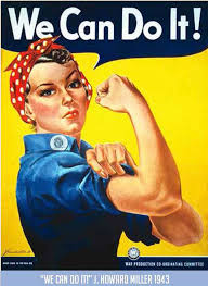J Howard Millers Famous We Can Do It Poster Also Known Famously