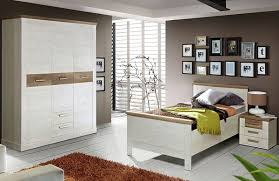 schlafzimmer komplett kleiderschrank bett nako pinie weiß
