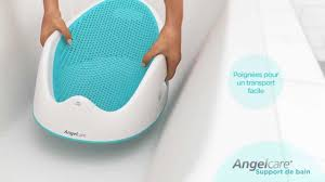Infant Bathtub Seat Ring by Angelcare Bath Support Youtube