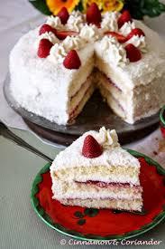 erdbeer kokos torte mit mascarpone creme