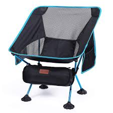 Portable Folding Camping Chairs With Carry Bag For Outdoor ...