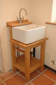 Utility Sink With Drainboard Freestanding by Washstand For Small Belfast Sink Kitchen Plotting Pinterest