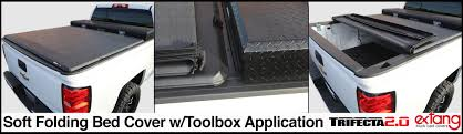 100 Truck Bed Door Extang Trifecta 20 Toolbox Cover Access Plus