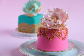 How To Make Mini Fondant Cakes Rosie s Dessert Spot