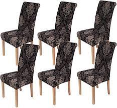 homaxy universal stretch stuhlhussen 2er 4er 6er set stuhlbezug für stuhl esszimmer 6er set style 10