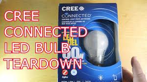 cree connected led bulb teardown