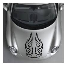 Flames Car Hood Decal Sticker Wall Art Graphics Tribal Paint