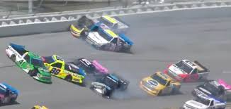 NBC's Parker Kligerman Escapes Serious Injury After Hard Crash In ... Weekend Schedule For Talladega Surspeedway Pure Thunder Racing No 22 Truck Will Have A Trumppence Paint Scheme Todd Gliland Goes Wild Ride Nascarcom Fr8auctions Set To Become Eitlement Sponsor Of Truck Bad Boy Mowers Returns To With Make Motsports Lyons Pairs Reaume For Race Speed Sport Free Friday Mechanical Woes Knock Chase Briscoe Out Series Playoffs At Kvapils Good Run Ends In The Big One At New Nascar Flaps Malfunctioning Select Teams News 2014 Freds 250 Camping World