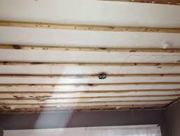 Sheetrock Over Ceiling Tiles by Installing Drywall Ceiling Over Plaster Integralbook Com