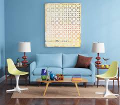Living Room Decor Simple Ideas Decorating Amazing Blue Yellow Home Office