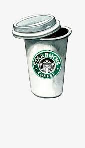 Starbucks Cartoon Cup Clipart PNG Image And