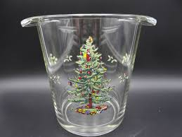 Spode Christmas Tree Glasses by Vintage Glassware U2013 Second Wind Vintage