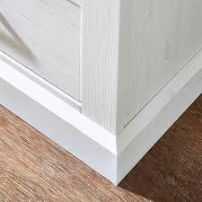 landhaus wohnzimmer wohnwand inkl led beleuchtung leer 55 in pinie weiß mit abs taupe b h t ca 318 204 52cm