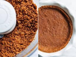 Pumpkin Pie With Gingersnap Crust by Vegan Pumpkin Gingerbread Pie Making Thyme For Health