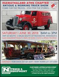 100 Show Trucks ATHS Hiawathaland Truck June 30 2018 Nuss Truck
