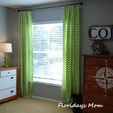 Gray Chevron Curtains Living Room by Bright Green Curtains Designs Windows U0026 Curtains