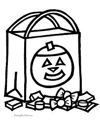 Halloween Coloring Pages Preschool