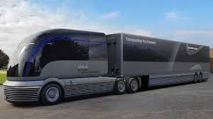 100 Concept Trucks 2014 Hyundai Debuts Dope HydrogenPowered SemiTruck
