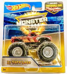 100 El Toro Monster Truck Amazoncom Hot Wheels Jam 25 Loco Dark Red With