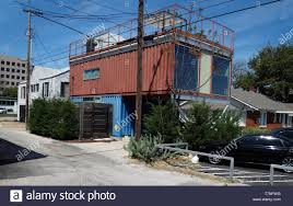 100 Recycled Container Housing Next To Old Midcentury Wooden Home A Recycled Shipping