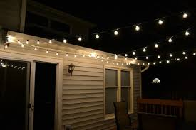 String Lights For Patio by Outdoor String Lighting Diy Lights Decoration