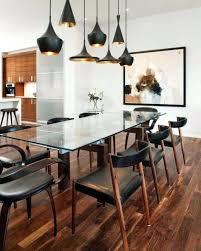 rectangular lighting fixture dining room medium size of pendant