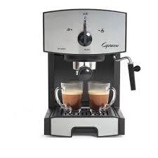 Capresso Espresso Cappuccino Machine Stainless Steel Silver EC50