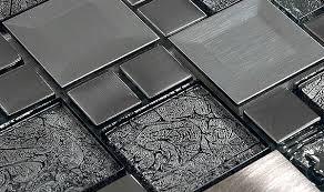 METAL BACKSPLASH TILE Mosaics Ideas