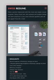 25 Simple (CV) Resume Templates (Easy To Customize & Edit ... Editable Resume Template 2019 Curriculum Vitae Cv Layout Best Professional Word Design Cover Letter Instant Download Steven Making A On Fresh Document Letters Words Free Scroll For Entrylevel Career Templates In Microsoft College High School Students Formats 7 Resume Design Principles That Will Get You Hired 99designs Format New Check Your Beautiful How To Create Wdtutorial To Make A Creative In Word Do I Make Doc 15 Free Tools Outstanding Visual