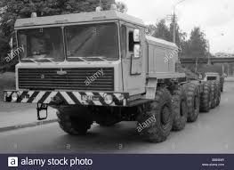 100 Maz Truck MAZ Multi Axle Truck Manufactured By Minsk Autoworks Stock Photo