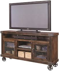 Industrial Style Tv Cabinet Stupefy Bin Pull 4 Drawer Media Console 82 Quot Irons Home Design