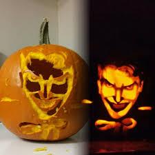 Harley Quinn Pumpkin Template by Joker Pumpkin Un Lit Comparison 2016 Halloween Pumpkins