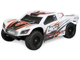 Losi Tenacity SCT RTR, AVC: 1/10 4WD White/Orange