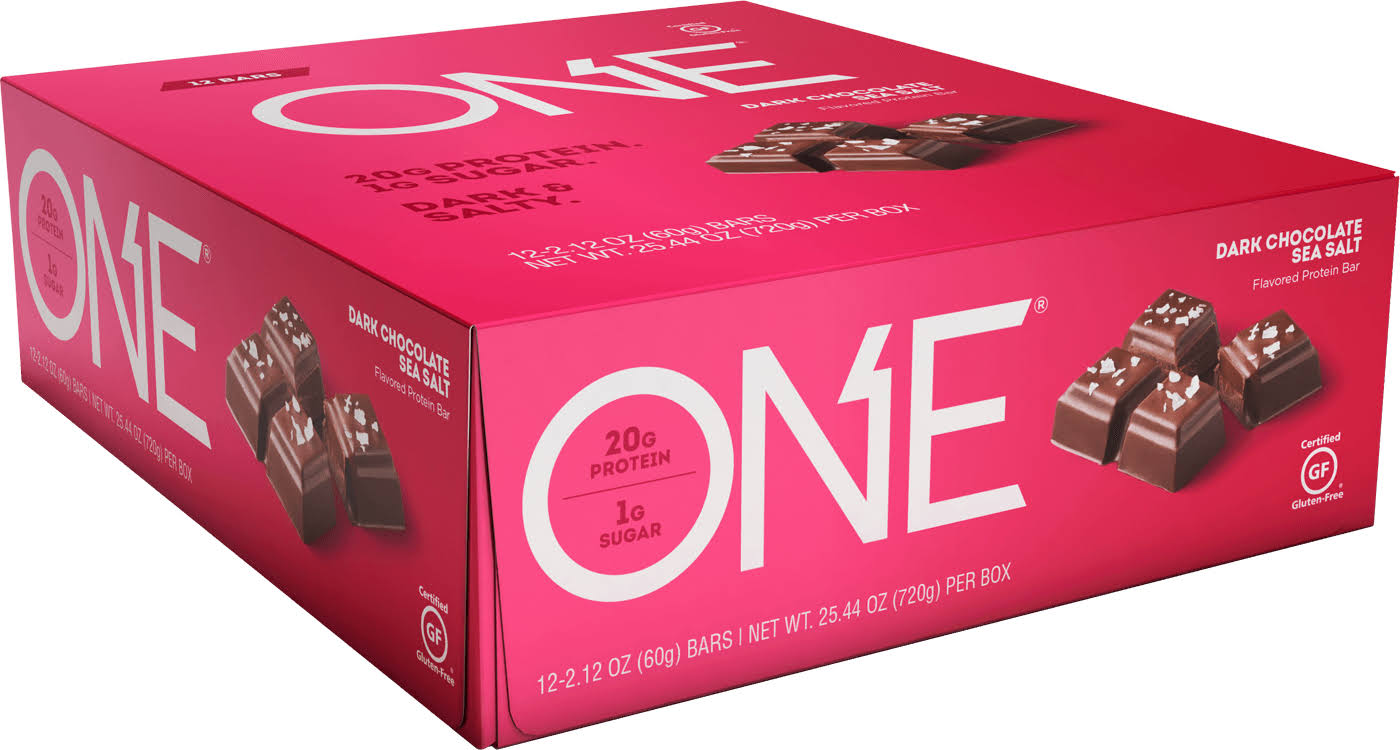 Oh Yeah ONE Protein Bar - Dark Chocolate Sea Salt, 2.12oz, x12