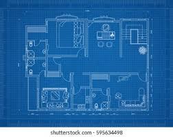 Blueprints House House Blueprint Hd Stock Images