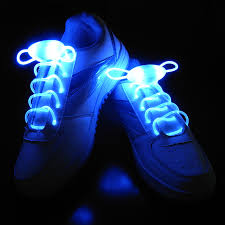 colorful led flash light up shoe laces disco shoes