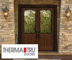 Therma Tru Patio Doors by Interior And Exterior Doors Garage Doors Commercial And