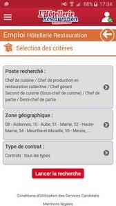 poste de chef de cuisine lhr emploi apk free business app for android apkpure com