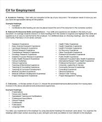 Curriculum Vitae Samples Pdf Free Download Pharmacist Resume Template Images 6 Word Document