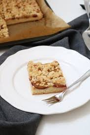 Plum Cake With Crumbles Fond Of Flavour