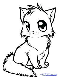 Baby Cat Coloring Pages Pictures Good Cute C