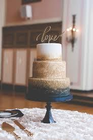 Navy And Gold Zingermans Wedding Cake Bakehouse E Schmidt Photography The Masonic Temple Detroit Michigan
